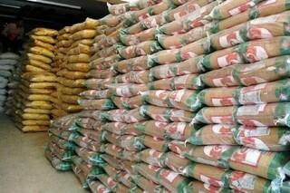 احتکار 13 تن برنج