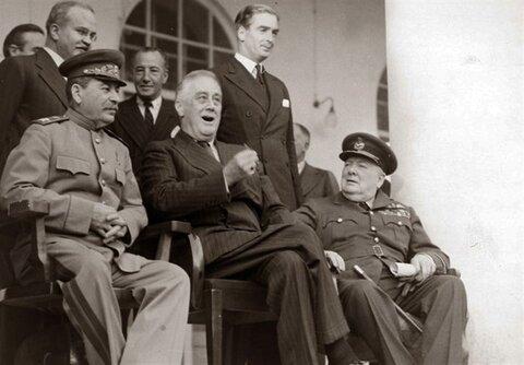 چرچیل، استالین و روزولت