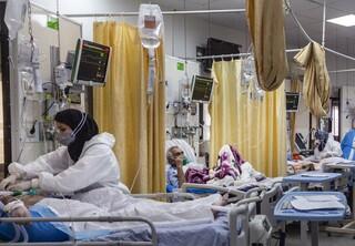 کاهش بیماران کرونایی