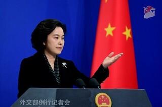 هوا چون اینگ سخنگوی وزارت امور خارجه چین