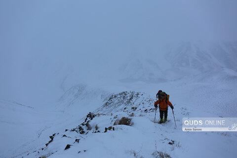 عملیات جستجو و نجات کوهنورد مفقود شده در بهمن