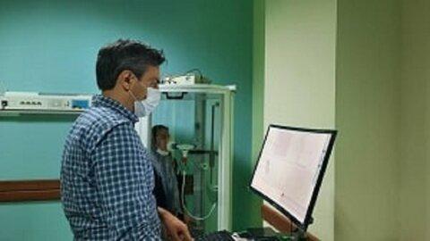 دستگاه تست تنفس در بیمارستان امام رضا (ع)
