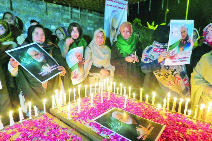 مقاومت/ رئیس دفتر رهبر شیعیان پاکستان در مشهد: شهادت «حاج قاسم» غوغایی در پاکستان به راه انداخت