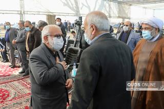 آغاز عملیات اجرایی مجتمع مسکونی امام رضا علیه السلام