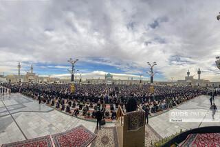 اقامه نماز جمعه پس از 11 ماه تعطیلی