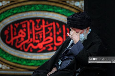 نخستین شب عزاداری فاطمیه در حسینیه امام خمینی (ره)