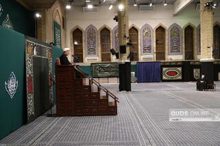 آخرین شب عزاداری فاطمیه ۱۴۴۲ در حسینیه امام خمینی(ره)