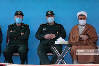 رژه موتورسواران یگانهای نظامی به مناسبت آغاز ایام الله دهه فجر