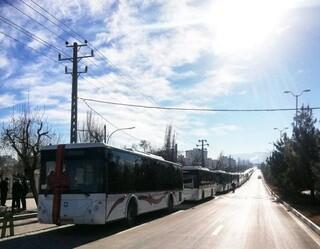 21 دستگاه اتوبوس