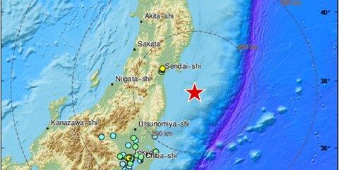 زلزله فوکوشیما