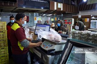توزیع مرغ دولتی در هیاهوی کرونا