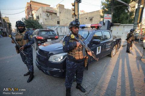 تدابیر امنیتی در بغداد