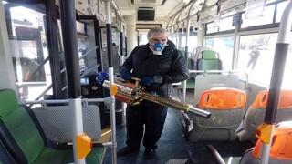 ضدعفونی اتوبوس