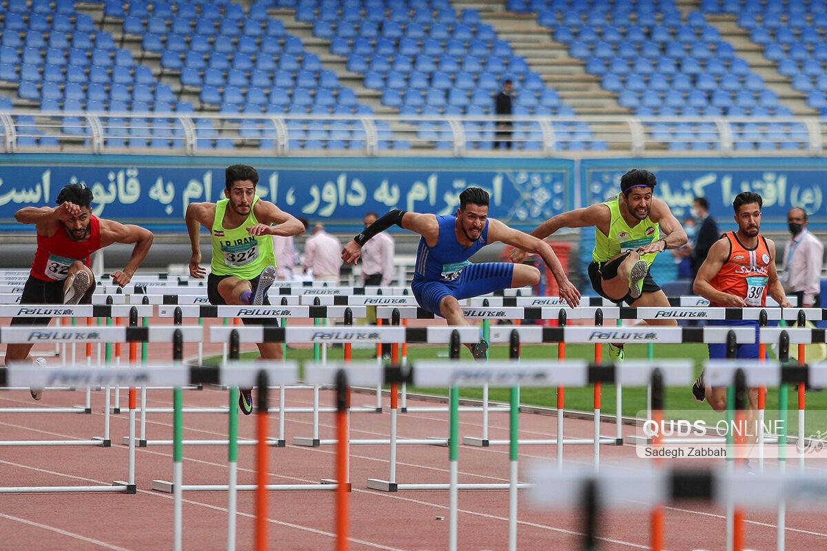 مراسم افتتاحیه مسابقات بینالمللی دو و میدانی جام امام رضا علیه السلام در مشهد