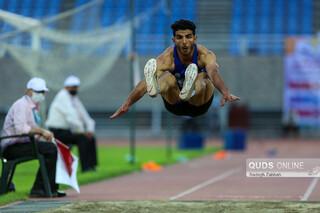 مراسم پایانی مسابقات بینالمللی دو و میدانی جام امام رضا (ع) در مشهد
