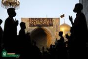 حرم مطهر رضوی میزبان هیئات مذهبی در شب های ماه مبارک رمضان است