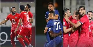 تیم های ایرانی لیگ قهرمانان آسیا