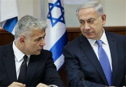 نتانیاهو و یائیر لاپید