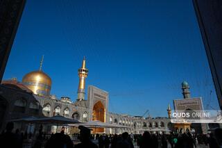 نماز عید فطر در حرم مطهر رضوی
