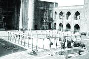 راز فرو خفته زیر حوض مسجد گوهرشاد