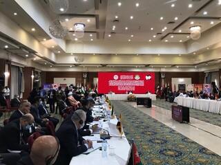 نشست فوق العاده  اتحادیه مجالس عضو سازمان همکاری اسلامی