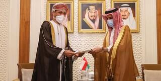 پیام سلطان عمان برای ملک سلمان