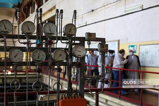بازدید حجت الاسلام پژمانفر از شرکت تولید برق مشهد
