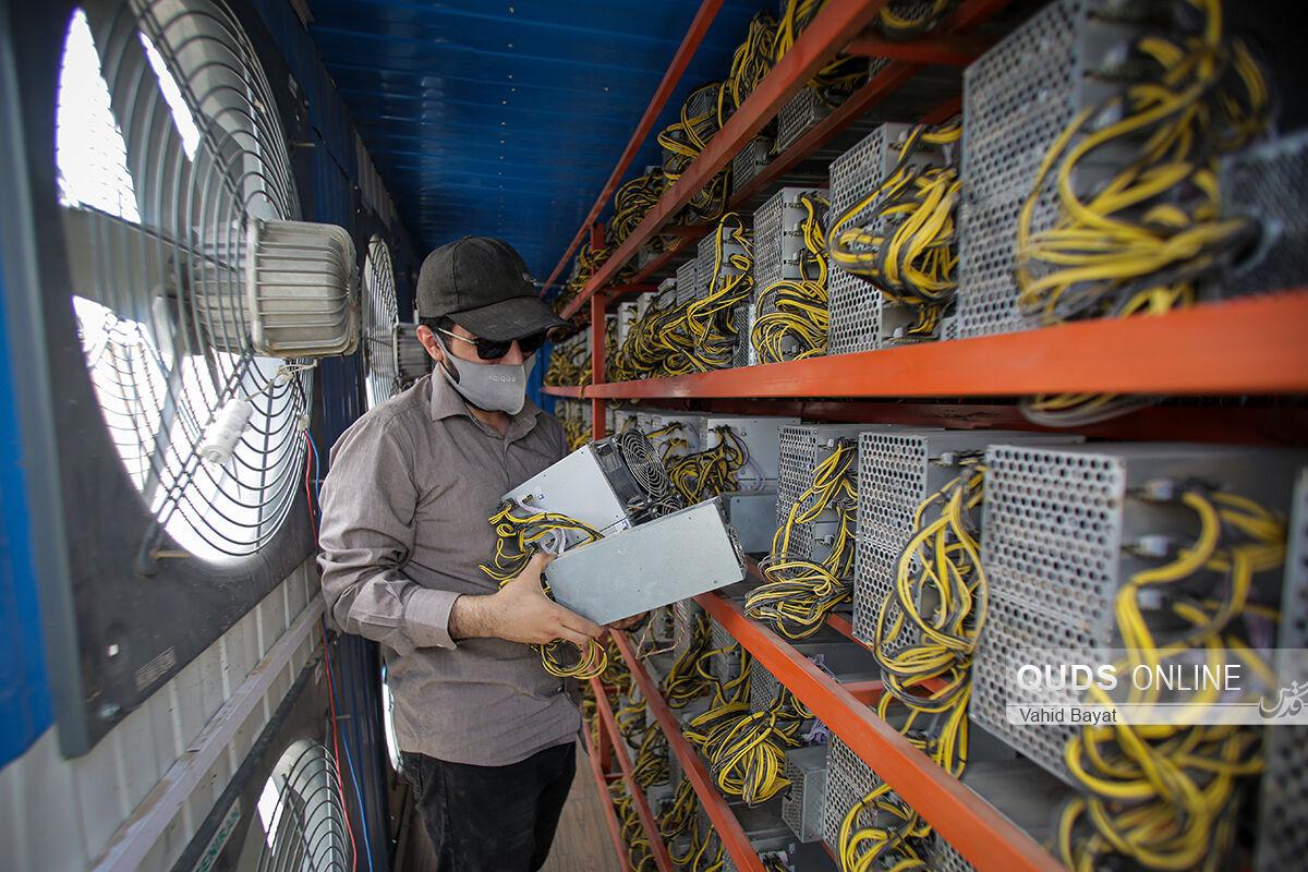 کشف ۷۵۰ ماینر از یک واحد تولیدی معروف در مشهد