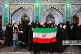 مشارکت شهروندان مشهدی در انتخابات ۱۴۰۰