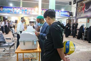 حضور پرشور مردم مشهد در انتخابات