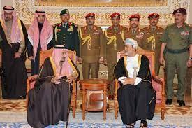 پادشاه عمان و عربستان