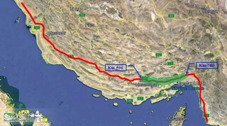نفت ایران به مکران رسید