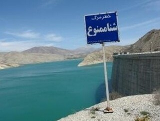 شنا در دریاچه سدها ممنوع