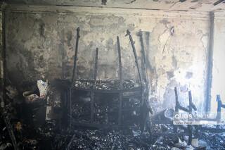 انفجار و حریق منزل مسکونی در بلوار ارشاد مشهد