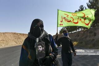پیاده روی زائران امام رضا علیه السلام به سمت مشهد